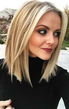 80 Sexy Long Bob Hairstyles You Should Try - Lob Ideas for Long Bob Long b. - 80 Sexy Long Bob Hairstyles You Should Try – Lob Ideas for Long Bob Long bob hairstyle or l - Long Bob Haircuts, Short Bob Hairstyles, Blonde Hairstyles, Short Hairstyles, Layered Hairstyles, Lob Haircut Thin, Medium Haircut Thin Hair, Neck Length Hairstyles, Short To Medium Haircuts