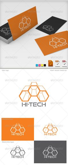 Hi-Tech Logo Template  #GraphicRiver        Hi-Tech Logo Template  It is an excellent logo in vector format. Ideal for any activity which uses Highest Technology. The Pack contains:   Colour Mode: CMYK color  Adobe Illustrator 10: AI & EPS  Adobe Illustrator CS5 : AI  Adobe Acrobat 6 (pdf 1.5) editable: PDF  Preview.jpg, see above.    Font used: Good Times