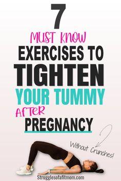 Tummy Toning Exercises, Toned Abs Workout, Diastasis Recti Exercises, Easy Ab Workout, Flat Tummy Workout, Cardio Workout At Home, Ab Workouts, Post C Section Exercise, After C Section Workout