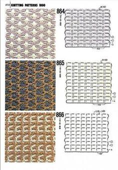 Вязание крючком шарфа в клетку