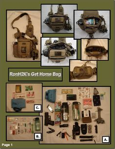 RonH2K's Maxpedition Jumbo™ Versipack™ Get Home Bag. (WARNING - Picture Heavy)
