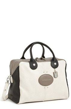 Longchamp 'Quadri - Large' Leather Satchel available at #Nordstrom