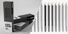 #pencil #packaging #black #white
