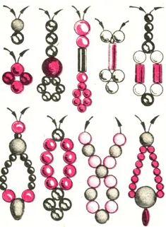Seed Bead Tutorials, Beaded Jewelry Patterns und mehr Pins im Trend bei Pinteres. - Seed Bead Tutorials, Beaded Jewelry Patterns und mehr Pins im Trend bei Pinteres … – Seed Bead - Seed Bead Patterns, Seed Bead Tutorials, Beading Tutorials, Beading Patterns, Beaded Jewelry Designs, Bead Jewellery, Seed Bead Jewelry, Handmade Wire Jewelry, Seed Beads