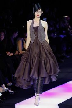 Couture Primavera 2013 Giorgio Armani Privé