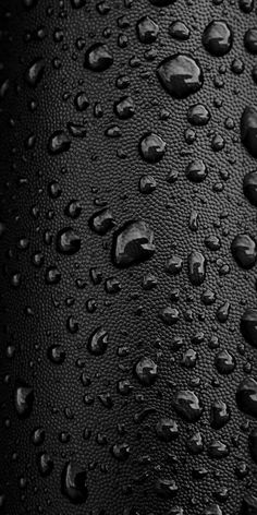 Black Water Droplets Wallpapers For Phones Iphone Wallpaper