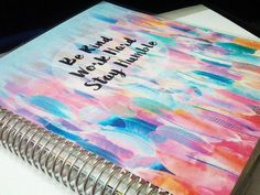 DIY Planner Cover for the ECLP or MAMBI Happy Planner