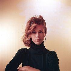 1958 Jane Fonda par Milton Greene