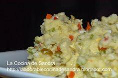 La Cocina de Sandra: Ensalada de Papa