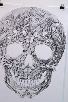 136b2f12e311227cc290d6217c614c81--skull-drawings-a-tattoo.jpg (550×821)