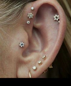 I will probably do that. But have an industrial bar on the other ear!!