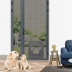 Dog Door Screen Door, Pet Screen Door,Automatic Lock/Lockable -- Want to know more, click on the image. (This is an affiliate link) #PresentsforCats