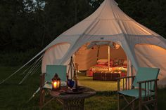 8 glamping hen parties for the boho bride-to-be
