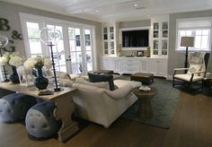 4 Exquisite Clever Tips: Living Room Remodel Before And After Stairs living room remodel with fireplace furniture arrangement.Living Room Remodel Ideas Floor Plans living room remodel before and after diy.Living Room Remodel Before And After Awesome. Living Tv, Home Living Room, Living Room Decor, Living Spaces, Living Area, Small Living, Built In Entertainment Center, Family Room Design, Family Rooms