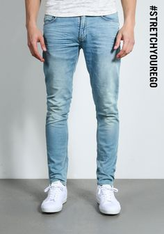 Chasin' EGO Bleach Jeans | Available at www.score.nl