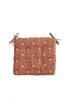 Sitzkissen gemustert rust Textiles, Bags, Chair Pads, Handbags, Fabrics, Bag, Totes, Textile Art, Hand Bags
