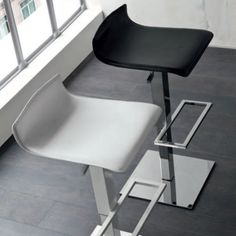 CampusAir This stool is ultramodern and contemporary and it is available in different colours that work perfectly together, especially in a modernly-decorated house. They are also great for a bar or coffee shop and even for an office. Extremely durable and reliable materials.