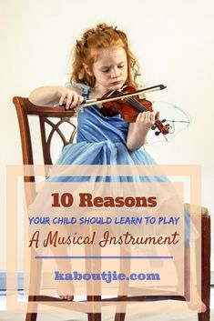 10 Reasons Your Child Should Learn To Play A Musical Instrument Along with being fun, music comes with so many added benefits that you may not be aware of. Here are 10 great reasons why your kid should be playing a musical instrument: Parenting Books, Gentle Parenting, Parenting Advice, Natural Parenting, Music For Kids, Fun Music, Conscious Parenting, Toddler Development, Music Lessons