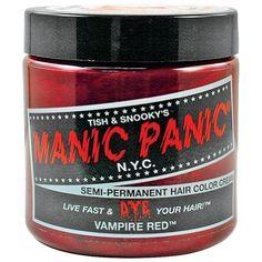 Manic Panic Vampire Red Hair Dye by PennyLaneGifts BEAUTY ** See this great product. #hairrepair