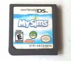 MySims (Nintendo DS, for sale online Nintendo Dsi Games, Buckeyes Football, Ds Games, My Sims, Ohio, Childhood, Characters, Healthy, Fun