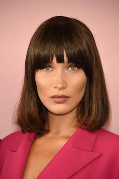 Here, Bella's 'do is all about the sleek and smooth. If you're keen to emulate, make sure you book in with your hairdresser for six-weekly trims.