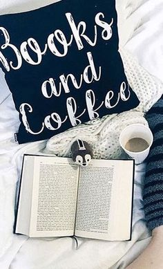 All the ingredients for a perfect afternoon—a good book, hot tea, and a throw pillow to snooze on. We love these bookworm-friendly designs from Redbubble. I Love Books, Books To Read, My Books, Reading Nook, Love Reading, Frases Tumblr, Coffee And Books, Book Nooks, Book Photography