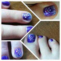Purple and butterflies to celebrate Fibromyalgia awareness Awareness Month