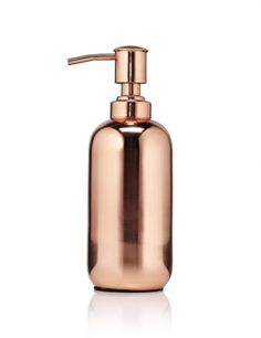 Stylish and practical, this soap dispenser makes for an attractive addition to any bathroom.