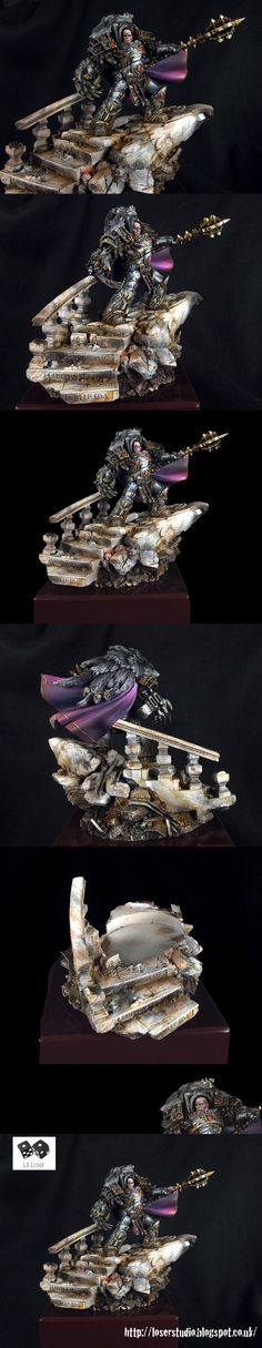 Horus Lupercal Warmaster of Chaos Sons of Horus Primarch