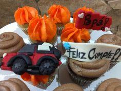 Cupcakes jeep 4x4