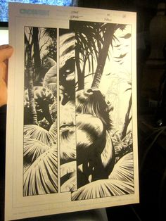 Original Comic Book Artwork CRUX  issue 124 Page 14 Steve Epting  BEAUTY
