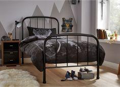 westbrook black metal bed frame - Black Metal Bed Frame