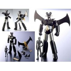 Bandai soul of chogokin GX-01B MAZINGER Z BLACK VERSION Bandai soul of chogokin…