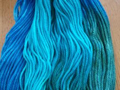 Bella Terra hand-dyed wool yarn