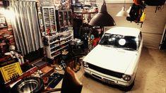 Toyota Cars, Toyota Corolla, Garage, Autos, Carport Garage, Garages, Car Garage, Garage House