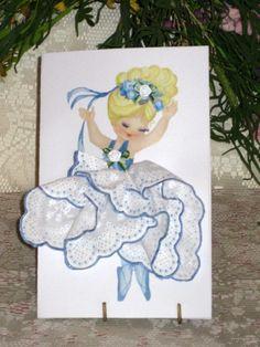 Little Lady Ballerina Blue or Pink