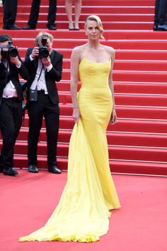 See the best red carpet fashion from Cannes Film Festival: Charlize Theron in Dior.