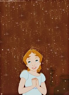 Disney Peter Pan Wendy | think happy thoughts ♥
