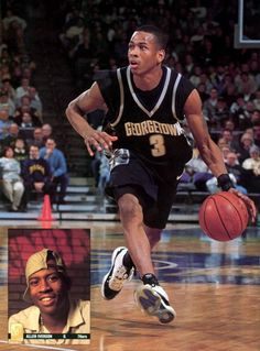 Iverson at Georgetown.