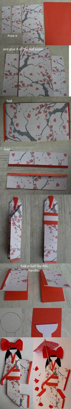 japanese paper doll tutorial by GirlOfTheOcean on DeviantArt