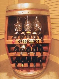 Poze Minibar Daniel lemn masiv Liquor Cabinet, Sweet Home, Wine Barrels, Wine Racks, Crafty, Diy Decorating, Fasteners, Craft Ideas, Decorations