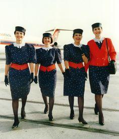 Cabin Crew late 1980s