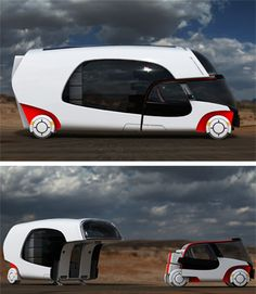 COLIM - Neat detachable motor home concept