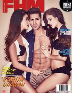 Varun Dhawan on FHM June 2015 Edition. #Bollywood #Fashion #Style #Handsome…