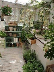 Loving this potting shed