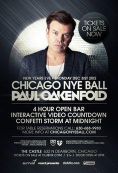 Paul Oakenfold Reception DJ