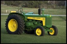 The 830 diesel was probably the best looking tractor in the 50's ( my opinion )