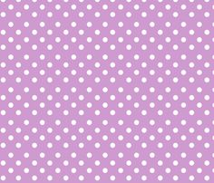 Violet Polkadots fabric by delsie on Spoonflower - custom fabric