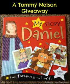 Bible story + sticker book = super fun giveaway!
