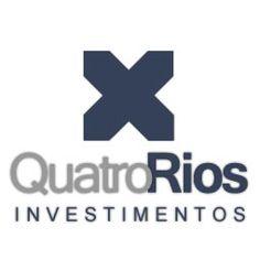 Quatro Rios Investimentos by M8Z #design #marketing #criacaodemarca #logomarca #marca #advertising #mark